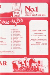 Falkirk vs Clydebank - 1980 - Page 11 (The Sky Strikers) Tags: falkirk clydebank scottish league division one brockville bairns view official programme 15p