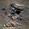 Pile of Rocks on Mars 1 (sjrankin) Tags: 8january2018 edited nasa mars rocks sand opportunity endeavourcrater colorized rgb bands257