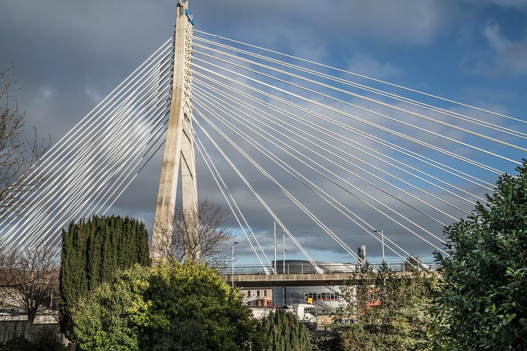 THE WILLIAM DARGAN BRIDGE IN DUNDRUM [LUAS GREEN LINE TRAM STOP DUNDRUM]-135138