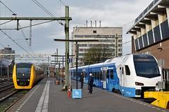 Zwolle, de gaande en de komende (Ahrend01) Tags: zwolle station dm90 flirt keolis ns zwollekampen kamper lijntje