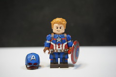 Captain America (LJH91) Tags: captainamerica legohero hero custom marvel legofigure lego