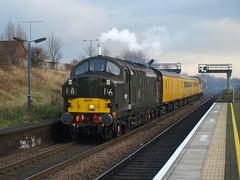 Colas Rail Freight Class 37s 37057 and 37254 'Cardiff Canton' pass through Small Heath (Oz_97) Tags: smallheath colasrailfreight networkrail britishrailways 37057 d6757 37254