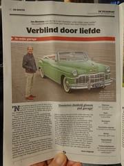 DE SOTO CUSTOM  DZ-18-68 1949 / 2016 in Telegraaf (willemalink) Tags: de soto custom dz1868 1949 2016 telegraaf