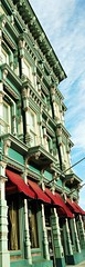 FANCY ARCHITECTURE ON OLD BUILDING DOWNTOWN (Visual Images1 (Thanks for over 4 million views)) Tags: binghamton ny