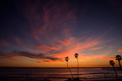 San Clemente, California: T Street Sunset No.1 (rocinante11) Tags: california sanclemente sunset ocean pacific coast coastline clouds sky