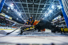 "Kansas City Mavericks vs. Colorado Eagles, December 17, 2017, Silverstein Eye Centers Arena, Independence, Missouri.  Photo: © John Howe / Howe Creative Photography, all rights reserved 2017. • <a style=""font-size:0.8em;"" href=""http://www.flickr.com/photos/134016632@N02/39138169901/"" target=""_blank"">View on Flickr</a>"