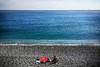 Rest assured (Melissa Maples) Tags: antalya turkey türkiye asia 土耳其 apple iphone iphone6 cameraphone mediterranean sea water konyaaltıbeach beach autumn sunbather sunbathing turk man blue