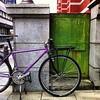 *鶸萌葱* (jun.skywalker (enishi hand made cyclecap)) Tags: instagramapp square squareformat iphoneography uploaded:by=instagram vigore mtb kyoto japan bicycle 京都文化博物館 iphone iphone4