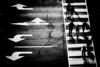 Crosswalk (s.W.s.) Tags: road signs arrows black ottawa canada people silhouette crosswalk city urban street blackandwhite nikon d3300 lightroom