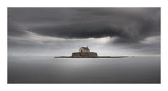 The Tempest (Nick green2012) Tags: seascape minimal colour 21 church stormy longexposure