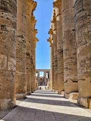 Temple de Luxor (Porschista) Tags: luxor egipte columnata columnas templo temple
