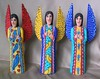 Carved Wood Angels Oaxaca Mexico (Teyacapan) Tags: angels oaxacan mexican madera woodcarvings artesanias crafts