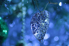 IMG_9385 (christina.marsh25) Tags: memberschoicebokeh macromondays macro heart christmastreedecoration ornament bokeh