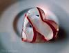 Coeur de Murano... ( P-A) Tags: artistique coeur dessiné soufflécouleur taillé teinte verre murano création italie venise voyage visite touriste photos simpa© souvenir précieux