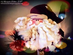 Merry Christmas Flickr (sminky_pinky100 (In and Out)) Tags: santa christmas oranament seasonal winter holiday stilllife