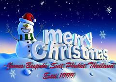 Merry Christmas 2017 And Happy New Year 2018 -James Bespoke Suit Phuket Thailand 1999 to Present. (manojrana1) Tags: merry christmas 2017 and happy new year 2018 james bespoke suit phuket thailand 1999 present