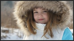 Taylor (M.J.H. photography) Tags: girlkid girl kid taylor winter tween portraite pose parker parka smile cute pretty coat