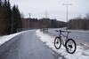 2017 Bike 180: Day 290, December 28 (olmofin) Tags: 2017bike180 finland vantaa bicycle ice jää polkupyörä path pyörätie lumix 20mm f17 riipiläntie murto norrkulla