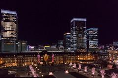 Tokyo Station #2 (yamabuki***) Tags: dsc3150 nightview tokyostation 東京駅 夜景 師走