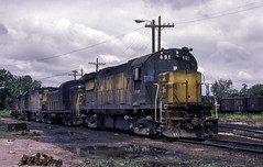 About as Dirty as it Gets (ac1756) Tags: cnw chicagonorthwestern northwestern alco c425 401 waseca minnesota