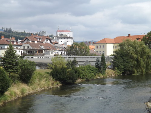 River Mürz, Kapfenberg, Austria
