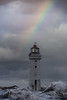 Weather (A Crowe Photography) Tags: newbrighton lighthouse rainbow waves weather northwest storm canon merseyside