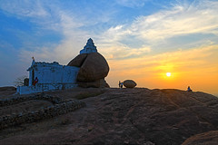 WHEN SUN KISSES GOODBYE (GOPAN G. NAIR [ GOPS Photography ]) Tags: gopsorg gopangnair gopan gops gopsphotography photography sunset malyavanta hampi temple karnataka india