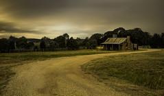 Runnin' Down A Dream (EmeraldImaging) Tags: bungendore canberra sunset clouds homestead australianhomestead landscape australia bush australianbush australianlandscape nsw newsouthwales longexposure le