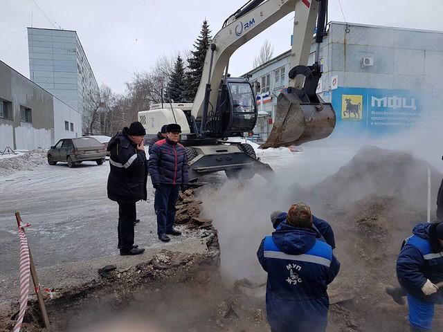 Граждане Сызрани из12 домов остались без тепла игорячей воды