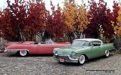 1957 Cadillac Eldorado Biarritz & Seville (JCarnutz) Tags: 124scale diecast danburymint 1957 cadillac eldorado biarritz seville