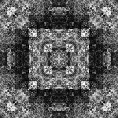 1659836254 (michaelpeditto) Tags: art symmetry carpet tile design geometry computer generated black white pattern
