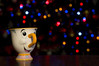 Chip. (salci_j Nikon D3200) Tags: chip disney taza bokeh lights luces christmas nikond3200 d3200 cantabria