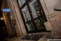 Wut in Dessau: Oury Jalloh-Demo 2018 (tim.lueddemann) Tags: oury jalloh dessau gedenkdemonstration demonstration sachsenanhalt rassismus polizei staat mord polizeizelle 2018