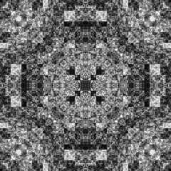 0044422529 (michaelpeditto) Tags: art symmetry carpet tile design geometry computer generated black white pattern