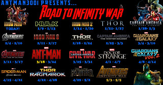 ANNOUNCEMENT: Road to Infinity War Watchaton!
