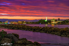 Jupiter Inlet Lighthouse Photo Beautiful Sky Colors (Captain Kimo) Tags: captainkimo florida hdrphotography jupiter jupiterinlet jupiterlighthhouse palmbeachcounty sunset thepalmbeaches