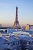 14 - Paris Septembre 2017 - La tour Eiffel (paspog) Tags: paris france septembre deptember 2017 toits roofs decken toureiffel