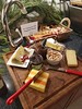 Immigrant Cheese Board (joelfinkle) Tags: 2017holidayparty cheese makrutlime keffirlime fig cheshire brie asiago bleucheese france germany england italian