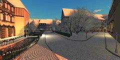 Sunny Winter Afternoon in Cœur d'Alsace (ErikoLeo) Tags: villedecoeur coeurdalsace landscape flickrlovers firestorm secondlife secondlife:region=coeurdalsacesecondlifeparcelvieuxcolmarcoeurdalsacevilledecoeursecondlifex102secondlifey177secondlifez26