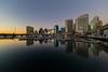 Serene City (Xenedis) Tags: australia barangaroo buildings city cocklebay darlingharbour harbour marina newsouthwales nsw pyrmontbridge reflection skyline skyscrapers sydney water