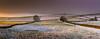 Winter Fields (Peter Quinn1) Tags: tideswell snow december whitepeak derbyshire peakdistrict sunrise mist misty
