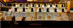 Eaux de toilette Diptyque, Paris (L'Abominable Homme de Rires) Tags: diptyque eau toilette parfum parfumerie flacon luxe paris galerieslafayette canon5d 5dmkiii 1740mmf4 dxo photolab lightroom