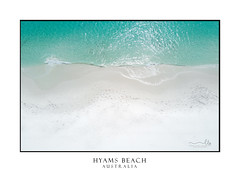 Idyllic water at Hyams Beach Australia (sugarbellaleah) Tags: water hyamsbeach beach sand pristine holiday vacation travel tourism pretty swim leisure outdoors recreation seaside perspective overhead view scenery footprints australia nature landscape summer season shoalhaven southcoastnsw ripples