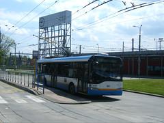 Ostrava trolleybus No. 3707 (johnzebedee) Tags: trolleybus transport publictransport vehicle ostrava czechrepublic skoda johnzebedee skoda26tr