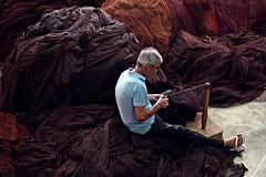 Alone! (Jorge Cardim) Tags: fishing nets redes work trabalho