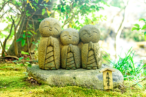 Smiley Jizo Collection of Hase Knnon : 良縁地蔵(長谷観音)