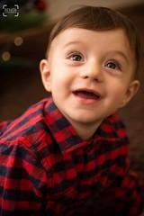 Sometimes just a smile is enough.. (renkata23) Tags: christmasmood christmas xmasmood xmas nikonbulgaria nikon mood face smiley babyboy baby portrait smile