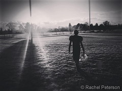 December 2017 - The end of the football season. (Rachel Peterson)