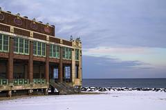 Asbury Park Convention Hall (BFru) Tags: asbury park new jersey beach winter snow ocean atlantic convention hall boardwalk