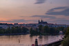 Prague Sunset (T is for traveler) Tags: travel traveler traveling tisfortraveler photography digitalnomad explore backpacker life prague czech republic europe summer trip sky sunset castle oldcity river skyline cityscape canon 1855mm 700d